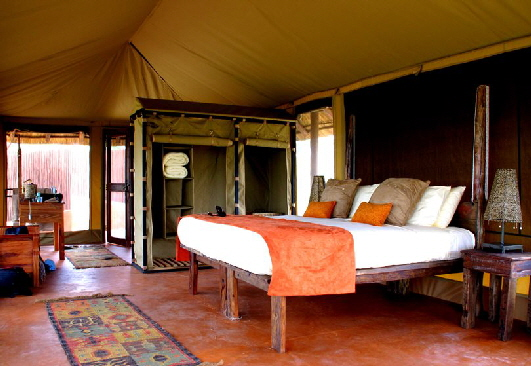 Safari Zelt in Olivers Camp