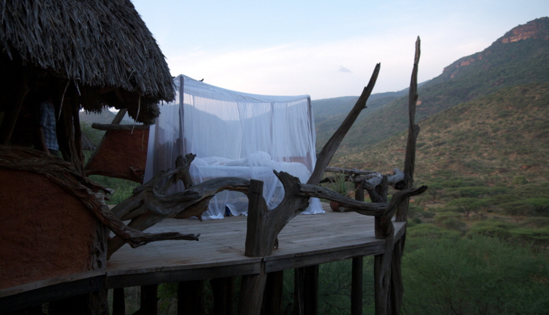 Starbed in Safarilodge Kenia