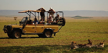 Safari mit Kind in Afrika